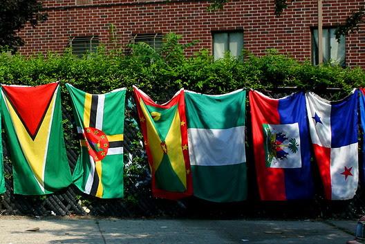 Eastern Parkway Flags
