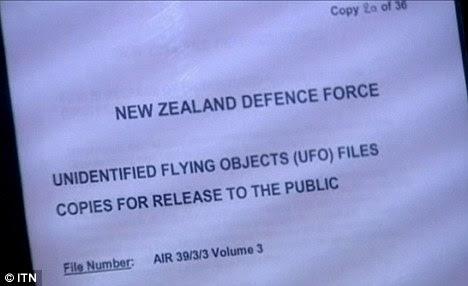 New Zealand UFO