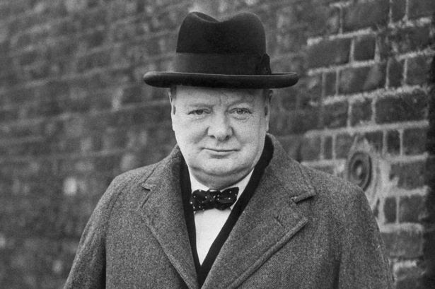 Sir Winston Churchill in 1940