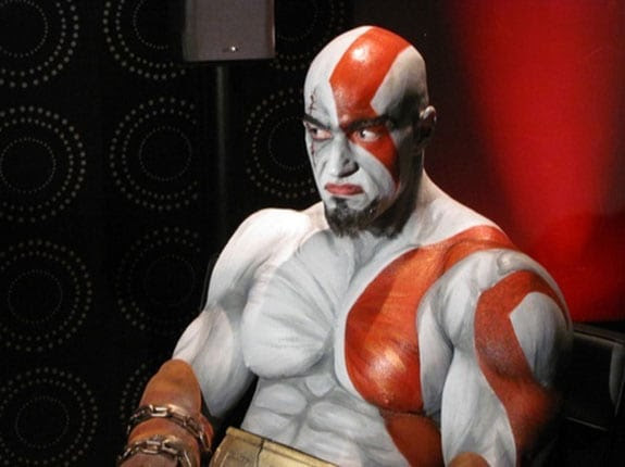 Cosplay: Kratos de God of War