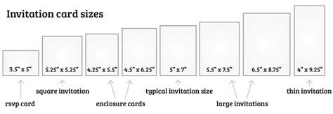 What Is the Standard Wedding Invitation Size?   EverAfterGuide