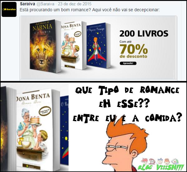 Blog Viiish - Dona Benta é romance???