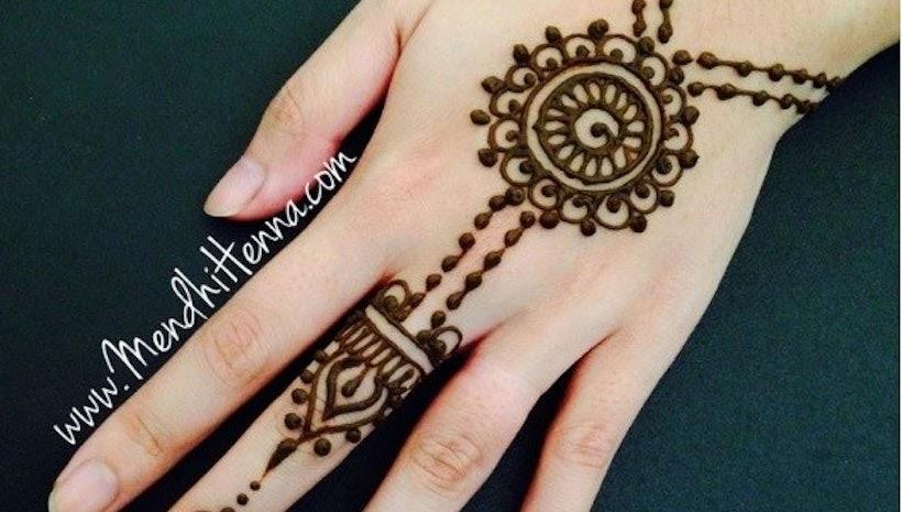 29 Paling Top Gambar Henna Pengantin Arab