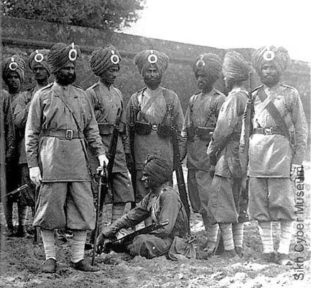 Sijs del British Indian Army