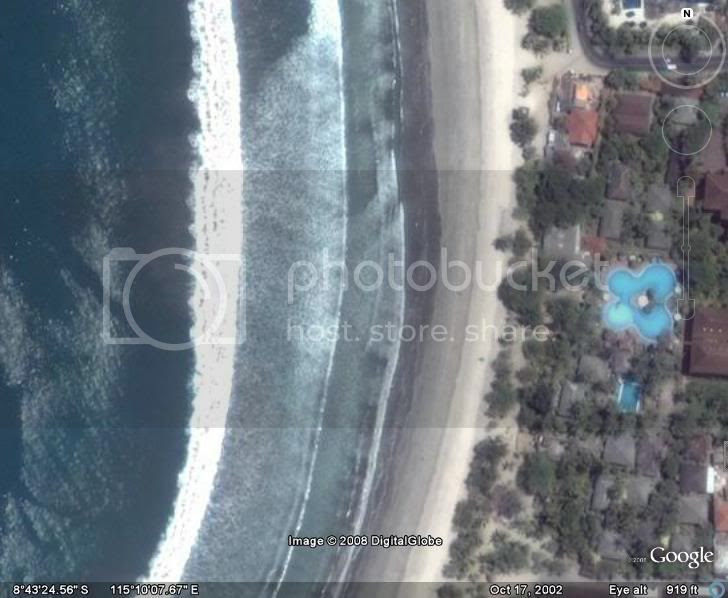 Pantai Kuta, Bunaken, Danau toba