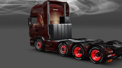 2014-01-22-Red Jewel Skin for Scania-2s