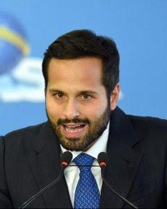 El hasta ahora ministro de Cultura brasileño Marcelo Calero. - AFP