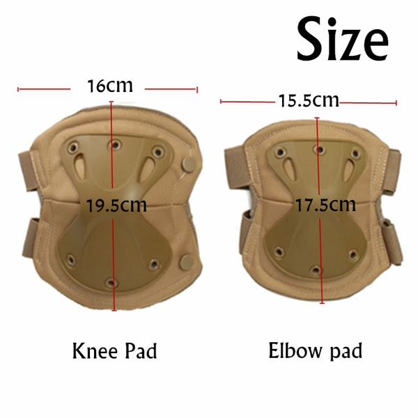 Tactical Knee Pads Elbow Protection Electric Unicycle Practice Gear Skate Guard Pad  Alexnld.com
