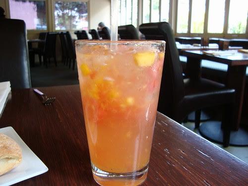 Watermelon-Apricot Soju Mist