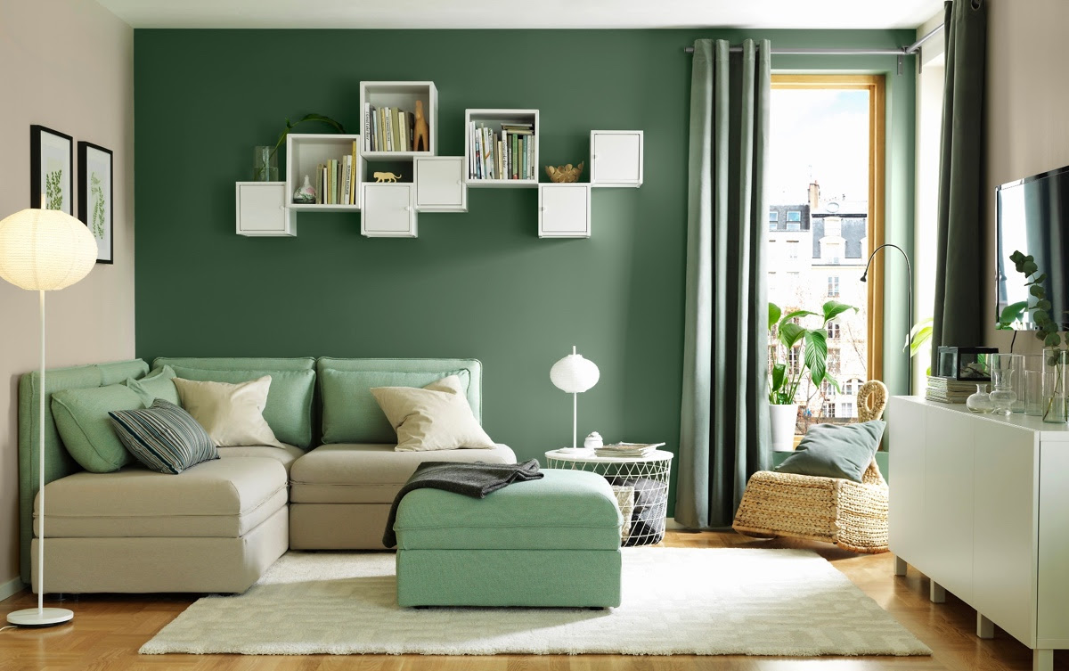 15 Gorgeous Green Living Rooms And Tips For Accessorizing Them