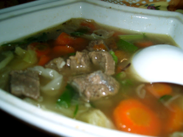 Sayur Sop Made This For Yesterdays Lunch I Love Eating