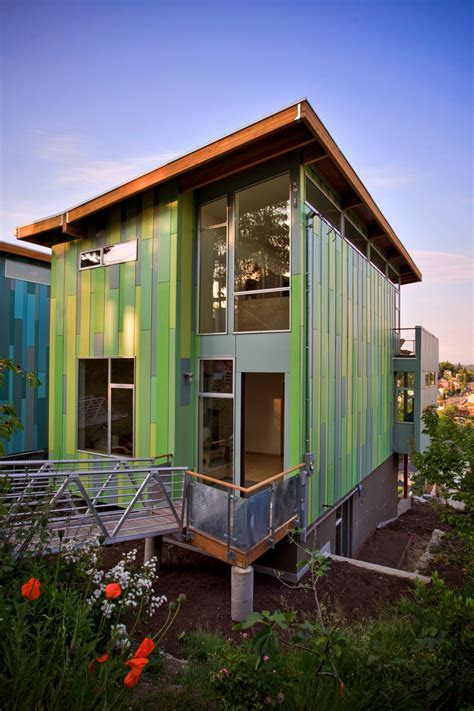 modern affordable eco friendly home  case architects