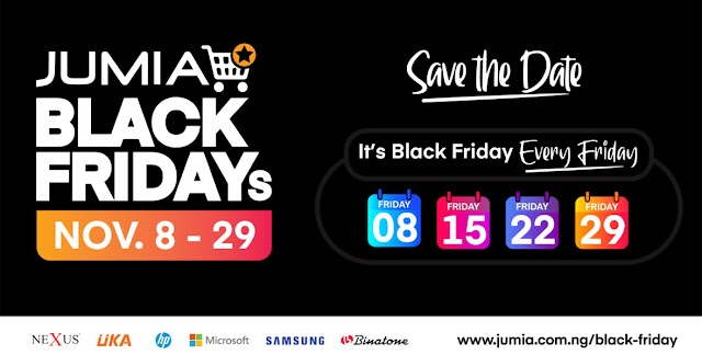 Jumia Black Friday 2019 – Another opportunity to shop