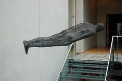 Even the Sculptures are in the lying Down Game!