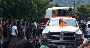 Latente quema de patrullas en Jacatepec