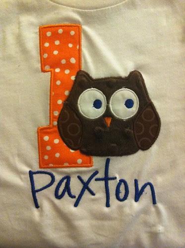 Birthday Shirt - Paxton