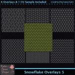 Snowflake Overlays 5 CU