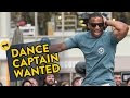 Random People Become Dance Captain Of Professional Dance Crew In NYC - Video