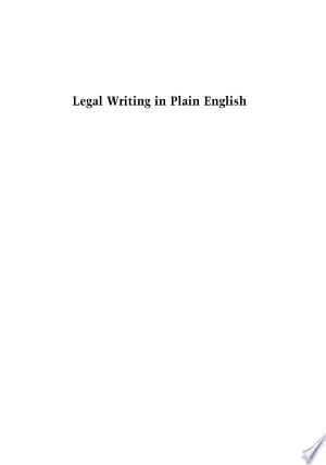 Download the little book on legal writing (alan l dworsky ) pdf free.