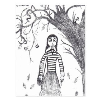 Creepy Halloween Post Cards
