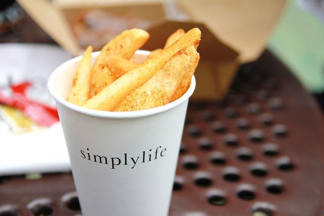 Hong Kong Park Lunch Fries