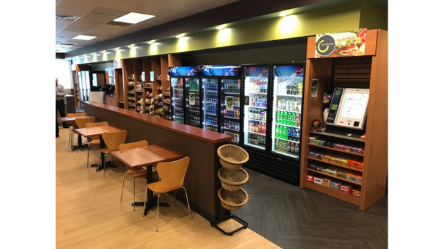 New Five Star Food Service Micro Market Lounge Triples ...