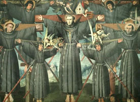 Francisco de Santa Mara y catorce compaeros, Beatos
