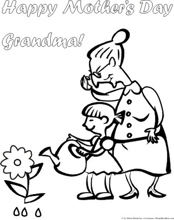 happy mothers day grandma coloring pages at getcolorings  free printable colorings pages to