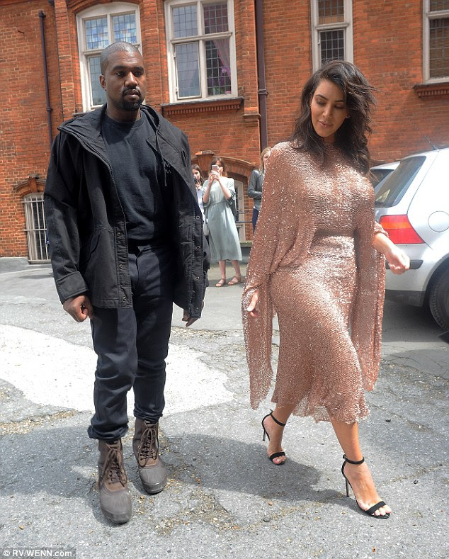 Bouncing back: Kim appeared to have made a miraculous recovery after her sleepless night, suffering from jet lag after arriving in the British capital from Los Angeles