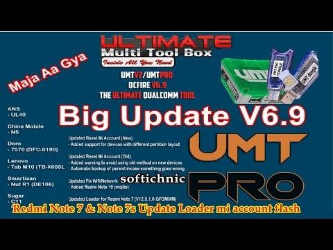 UMT Tool Pro V6.9 Dongle Setup UMT QCFire latest All version softichnic