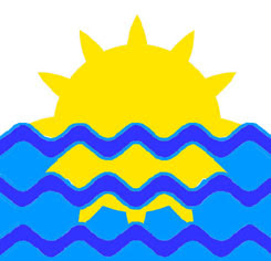 The Sun and River, royal symbol of Mâvarin