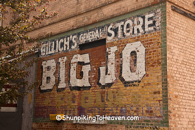 Gillich's General Store with Big Jo Flour Sign, Dodge County, Wisconsin
