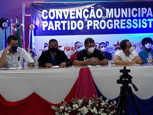 Santa Teresinha - Convenção do PP oficializa Zé de Zila e Pitucha Andrade
