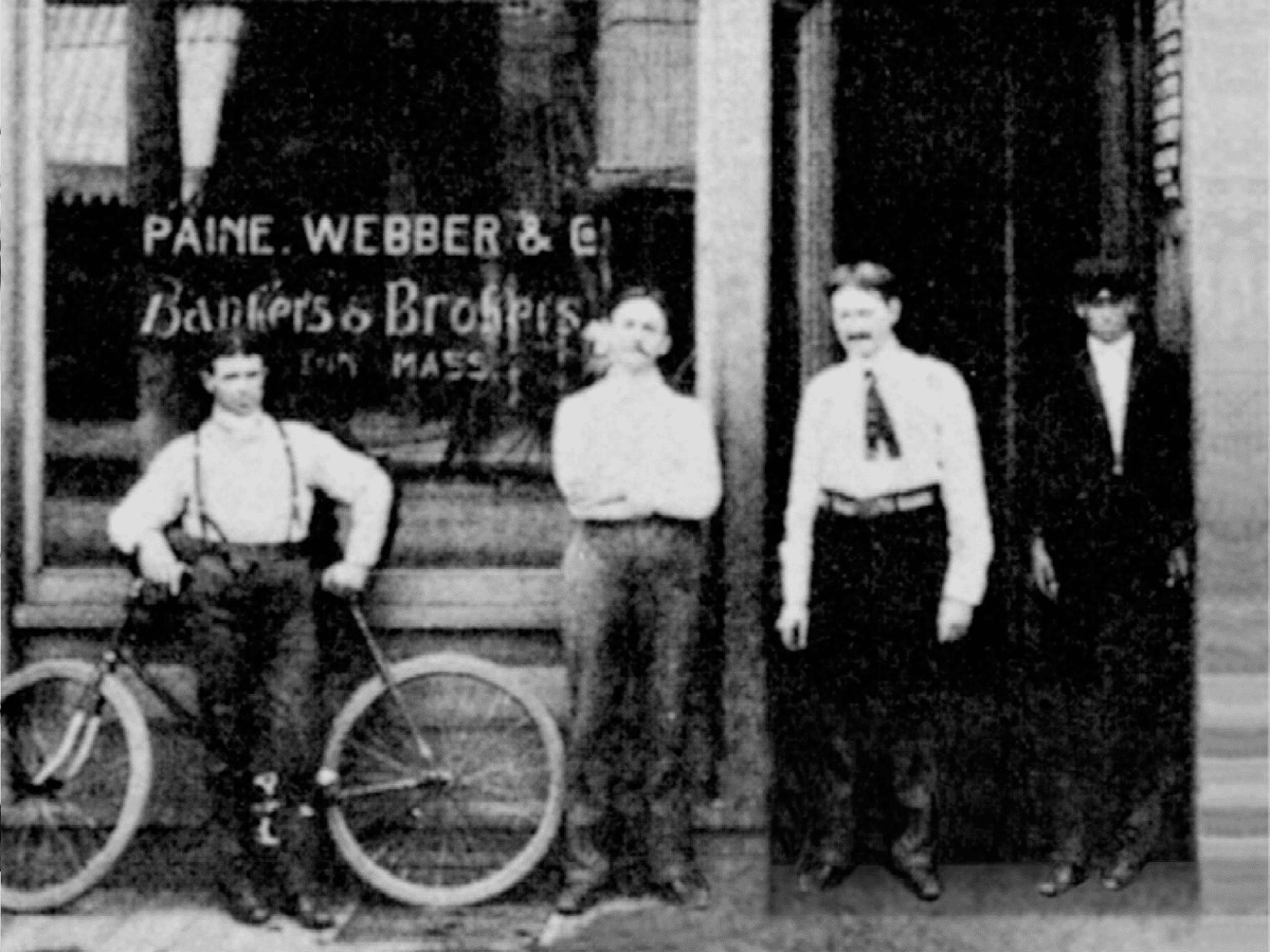 At 14, he charmed his way into a job as a board boy at banking company, Paine Webber.