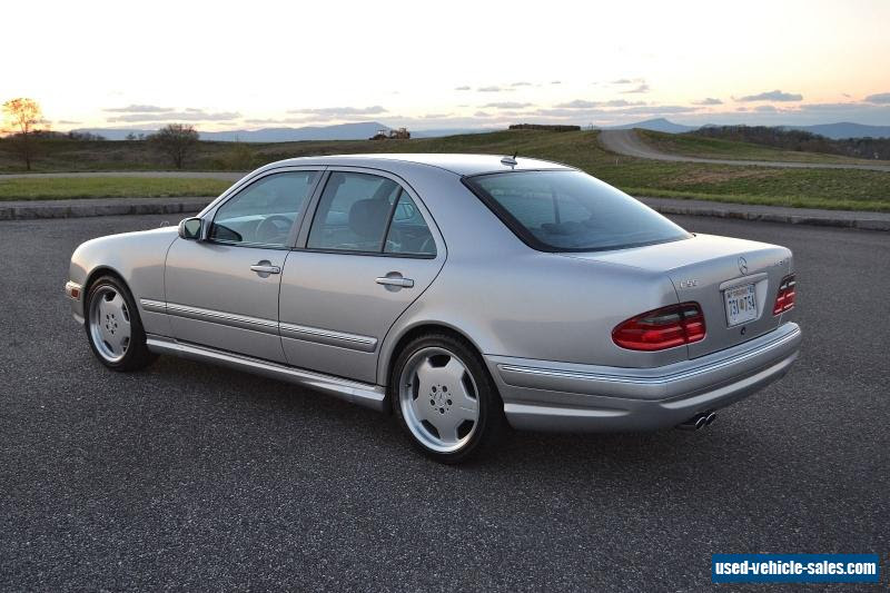 2001 Mercedes-benz E-Class for Sale in the United States