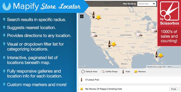 Google Maps Store Locator For WordPress – Download Script