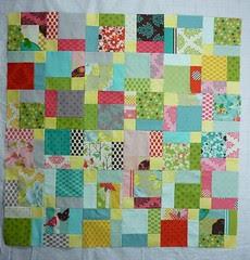 baby quilt progress