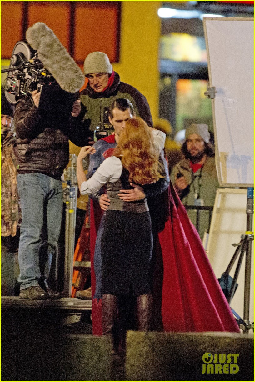 Batman v Superman - Dawn of Justice: Fotos de Lois Lane y Superman