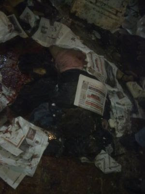 مجموعة من الصور والفيديوهات لتفجيرات كنيسة القديسين بالاسكندرية