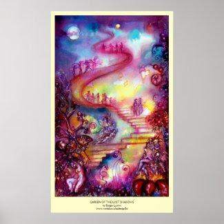 GARDEN OF THE LOST SHADOWS -Third Gate print