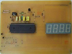 Mạch nhiệt kế kỹ thuật số đơn giản với ICL7107 và LM35