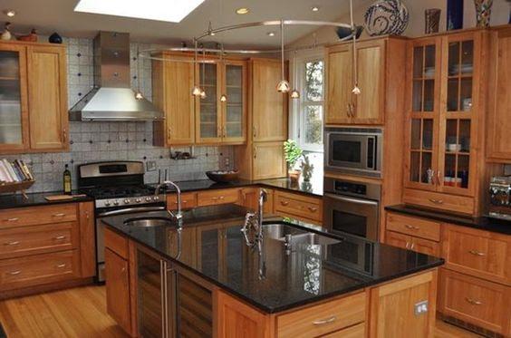Black Granite Countertops - a Daring Touch of ...