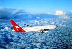 Flight Qantas, Australia