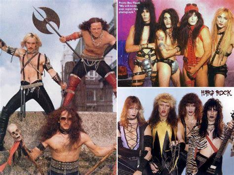 Awkward Metal Band Photos