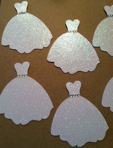 Wedding Dress Cutouts Wedding Dress Favor By