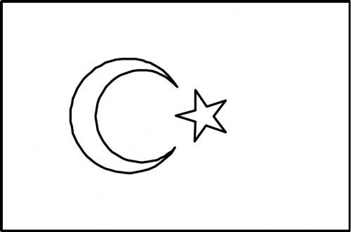 Türk Bayrağı Boyama Indir 1sınıf Okuma Yazma 1dönem Etkinlik Ve