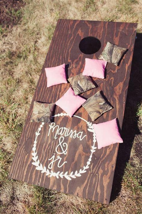 45 Fun Outdoor Wedding Reception Lawn Game Ideas   Deer
