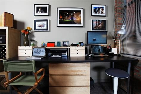 simple  comfortable home office design ideas