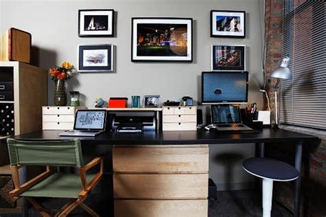 simple  comfortable home office design ideas