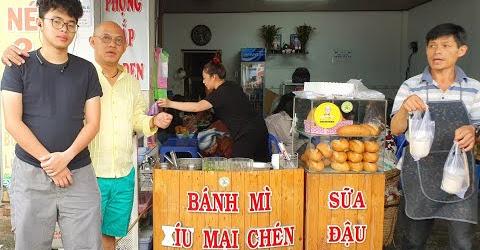 Food For Good #389: Cụ bà 91 tuổi và bánh mì chấm xíu mại sữa đậu nành Dung béo lừng danh Đà Lạt